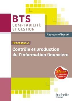 P2 PRODUCTION DE L'INFORMATION FINANCIERE BTS CG ED 2015