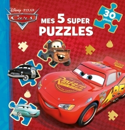CARS, MES 5 SUPERS PUZZLES (30 P)