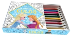 COFFRET REINE DES NEIGES CARREMENT COLOS
