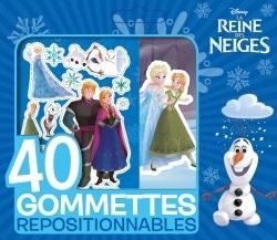 LA REINE DES NEIGES, PETITE POCHETTE GOMMETTES 40