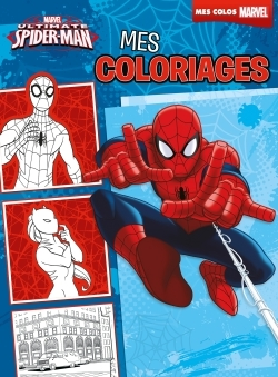 ULTIMATE SPIDERMAN, MES COLORIAGES