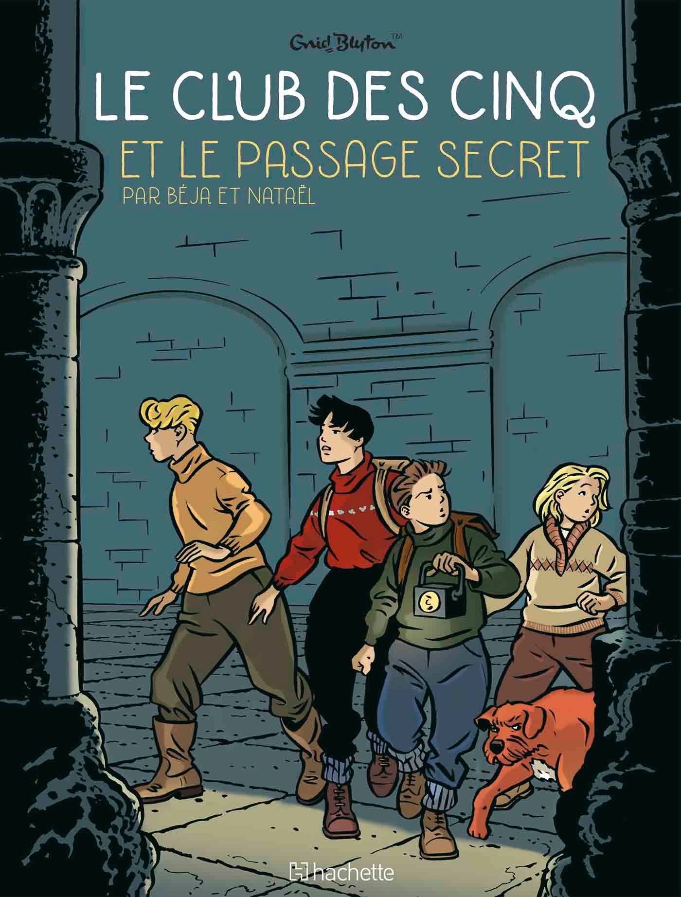 LE CLUB DES 5 T2 - LE PASSAGE SECRET