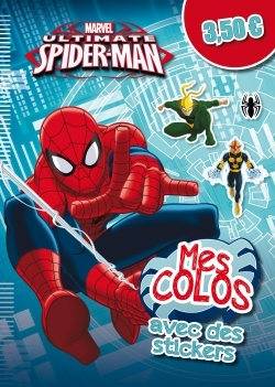 ULTIMATE SPIDERMAN, MES COLOS AVEC STICKERS