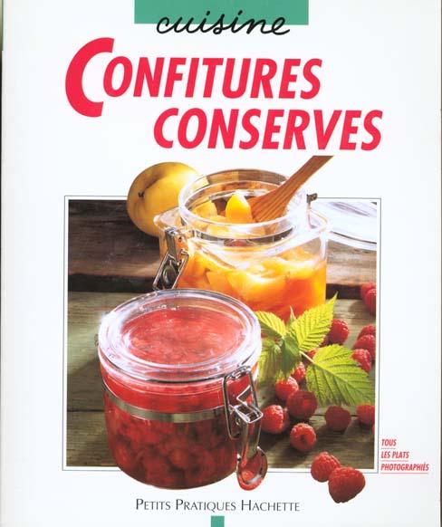 CONFITURES CONSERVES