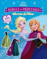ELSA/ANNA , LA REINE DES NEIGES, HABILLE TES PRINCESSES