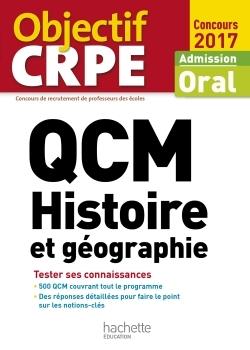 QCM CRPE : HISTOIRE ET GEOGRAPHIE
