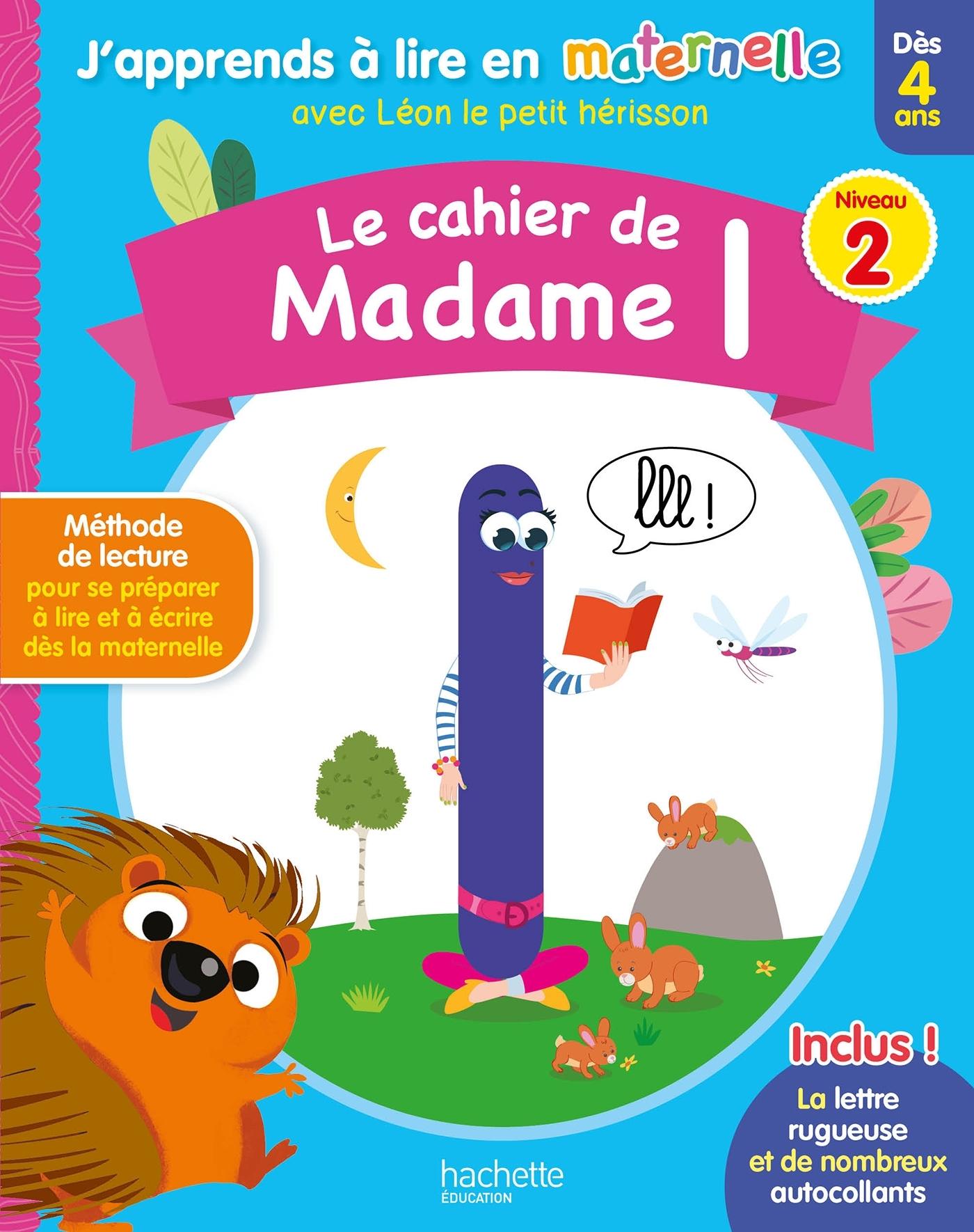 LE CAHIER DE MADAME L NIV. 2
