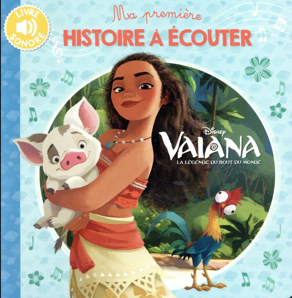 VAIANA - MA PREMIERE HISTOIRE A ECOUTER - LIVRE SONORE