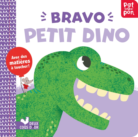 BRAVO PETIT DINO ! LIVRE ANIME