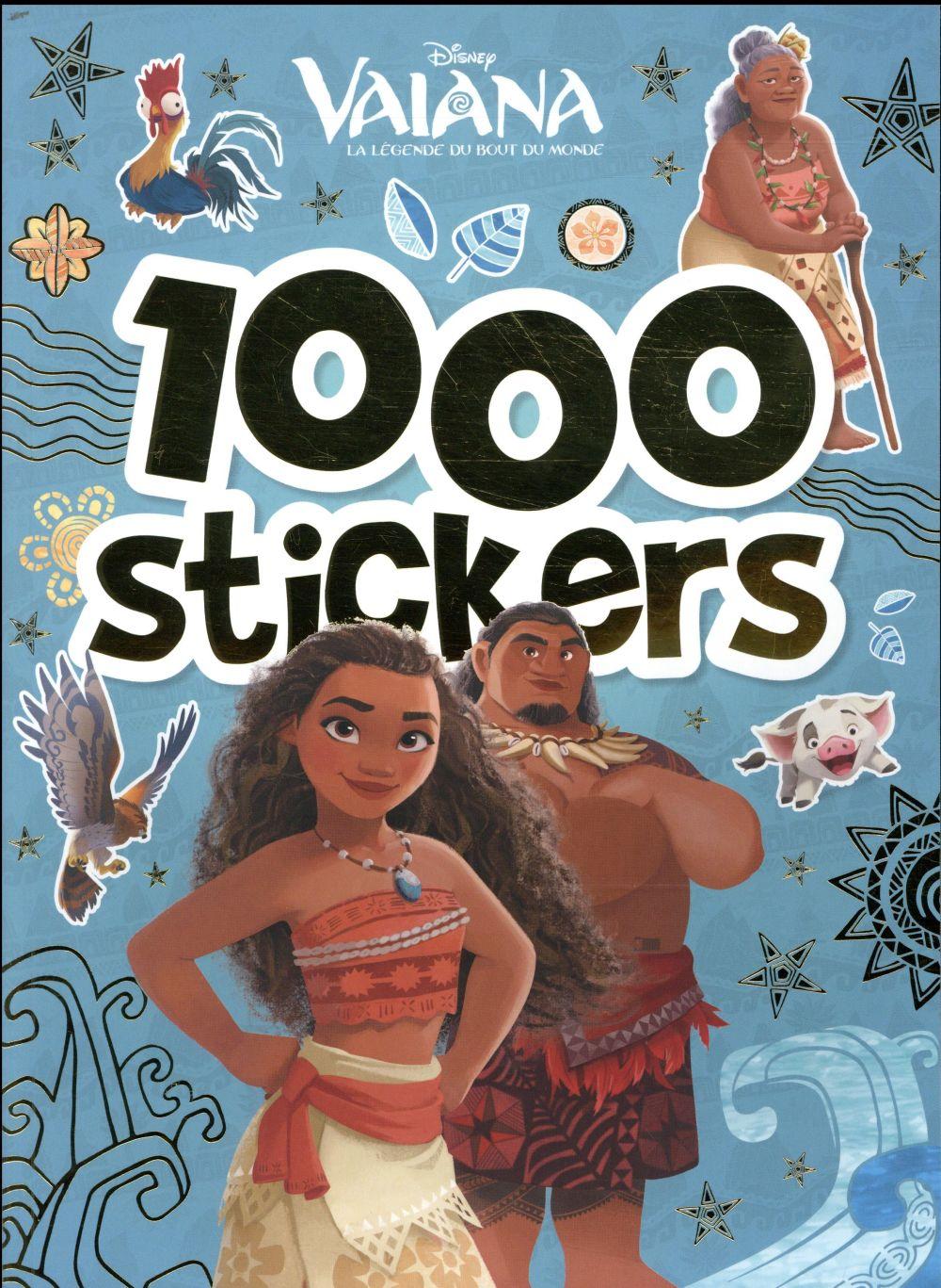 VAIANA - 1000 STICKERS
