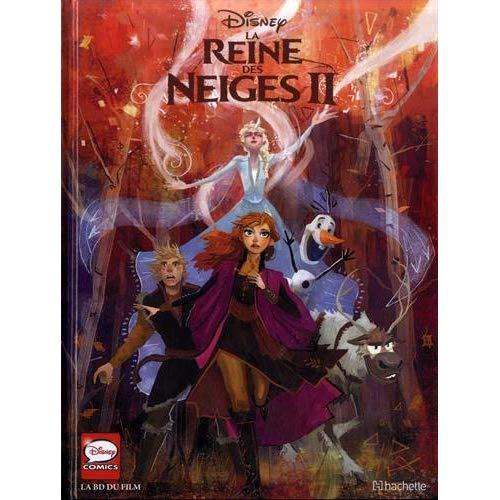 LA REINE DES NEIGES II - LA BD DU FILM