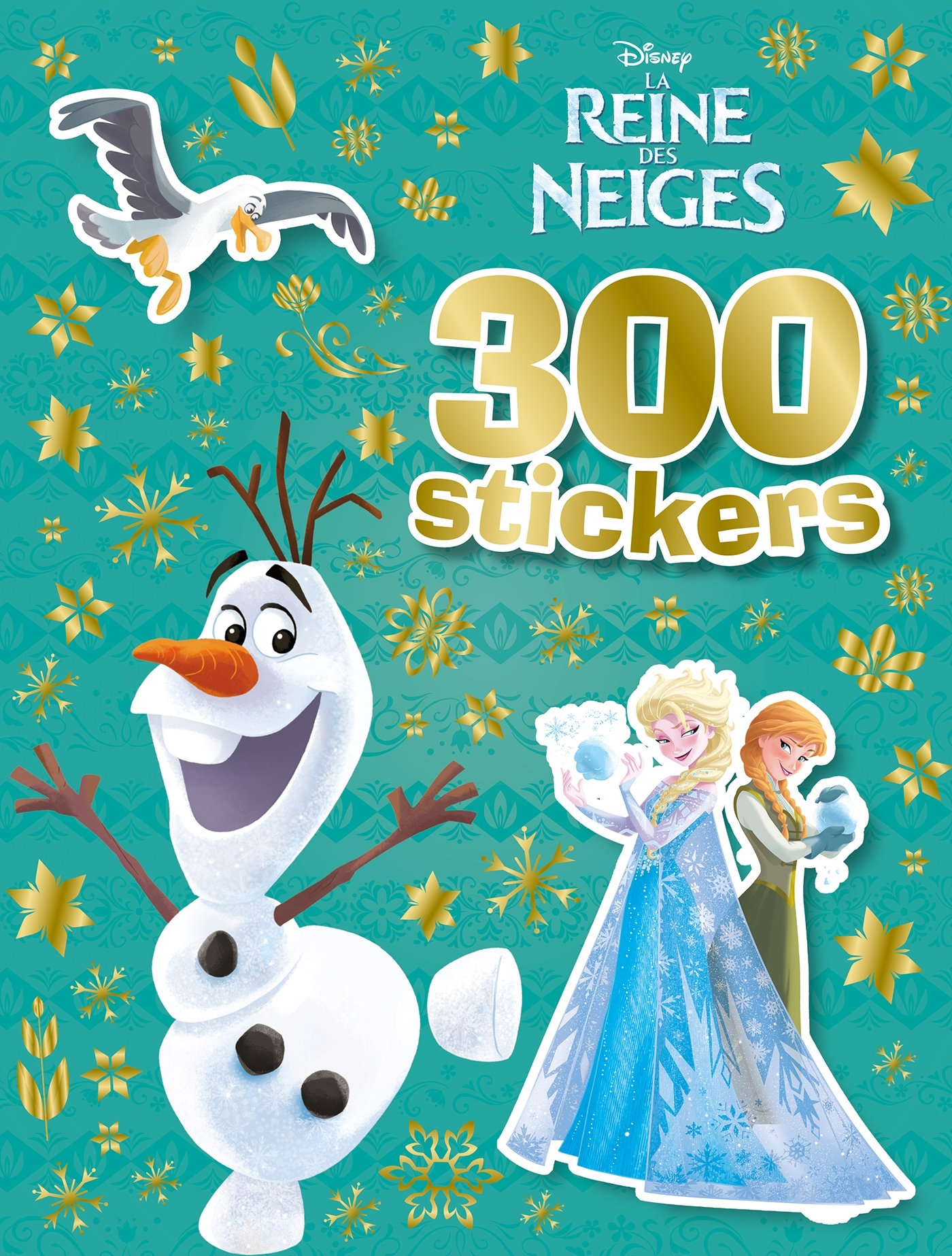 LA REINE DES NEIGES, 300 STICKERS - OLAF
