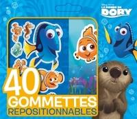 LE MONDE DE DORY, PETITE POCHETTE GOMMETTES 40