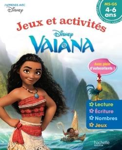 VAIANA JEUX ET ACTIVITES 4-6 ANS