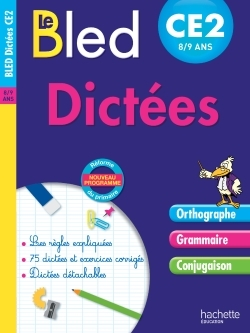 CAHIER BLED - DICTEES CE2