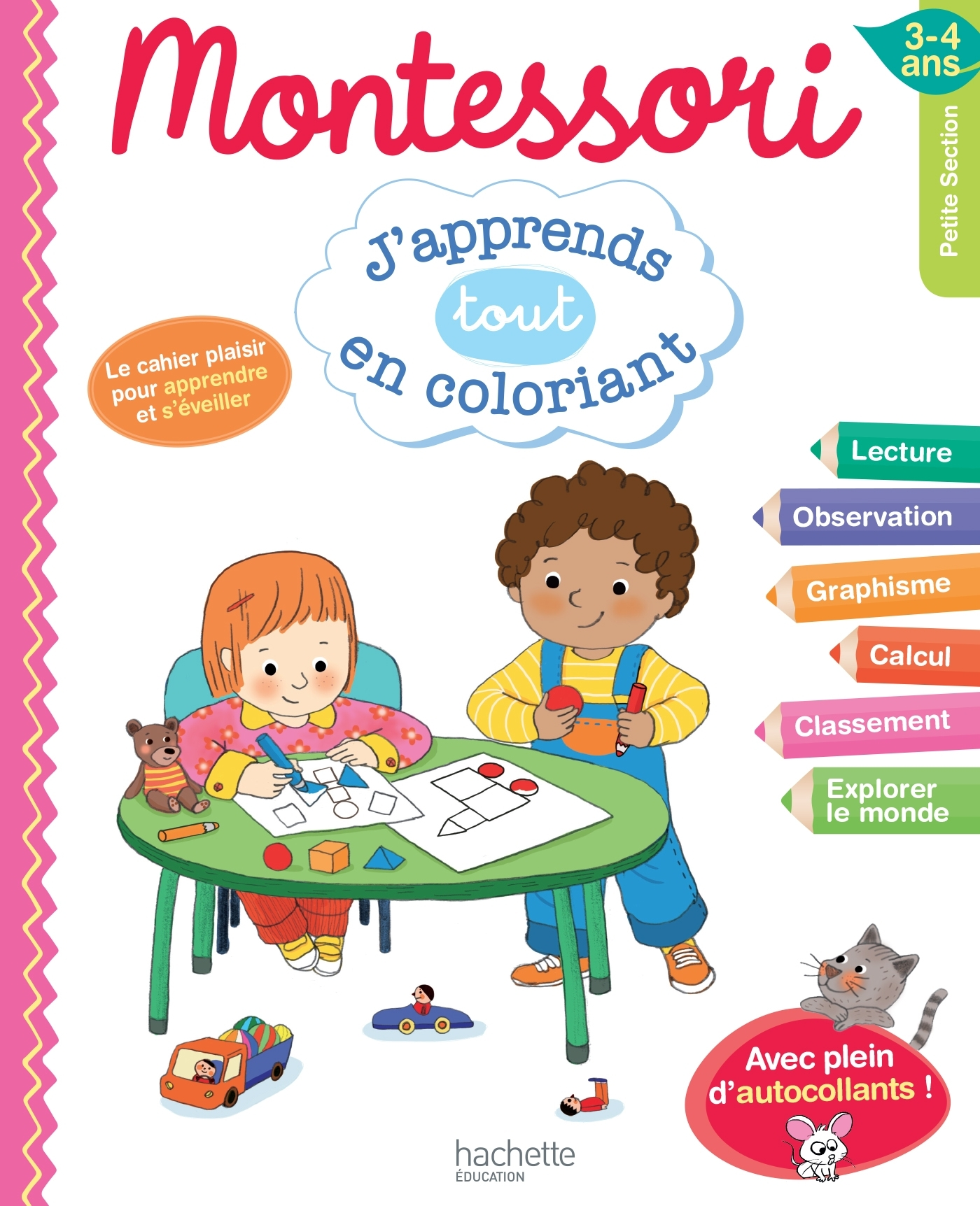 MONTESSORI J'APPRENDS TOUT EN COLORIANT PS