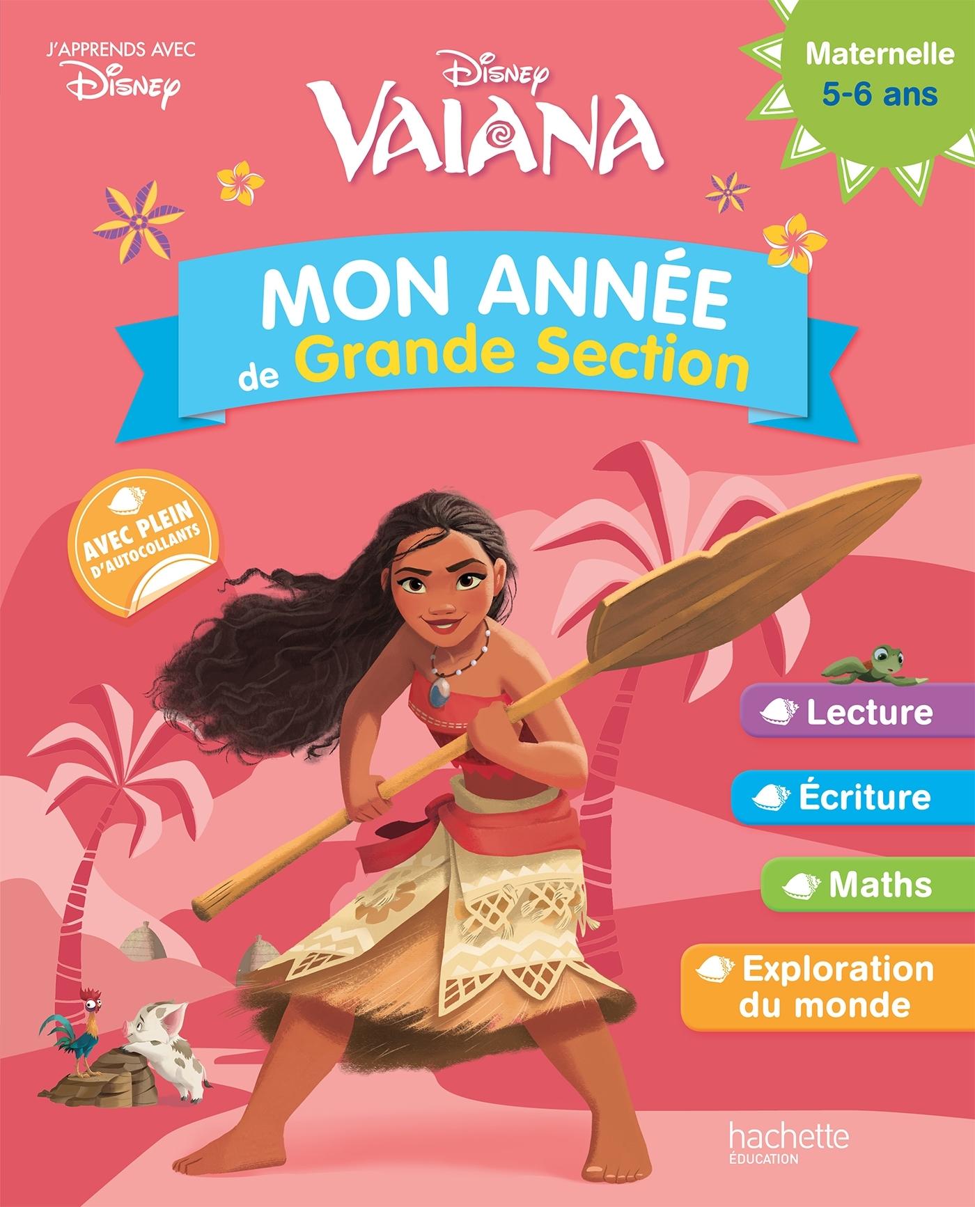 VAIANA MON ANNEE DE GS (5-6 ANS)