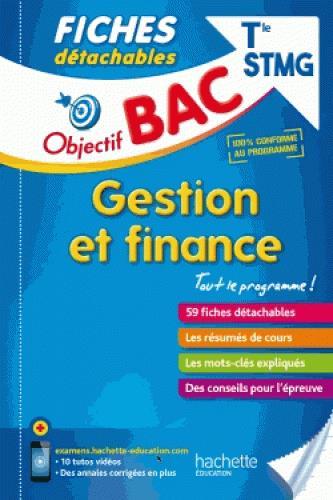 OBJECTIF BAC FICHES DETACHABLES GESTION ET FINANCE TERM STMG