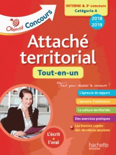 OBJECTIF CONCOURS 2018 ATTACHE TERRITORIAL (CONCOURS INTERNE)