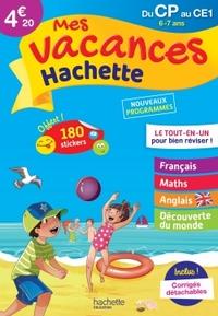 MES VACANCES HACHETTE CP/CE1