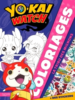 YO-KAI WATCH - COLORIAGES TRIBU LES MIGNONS
