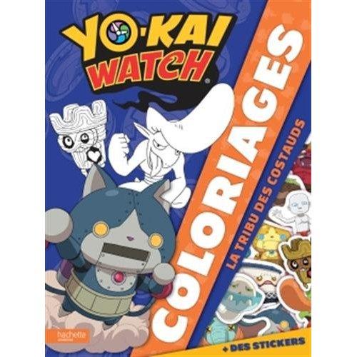 YO-KAI WATCH - COLORIAGES- LA TRIBU DES COSTAUDS