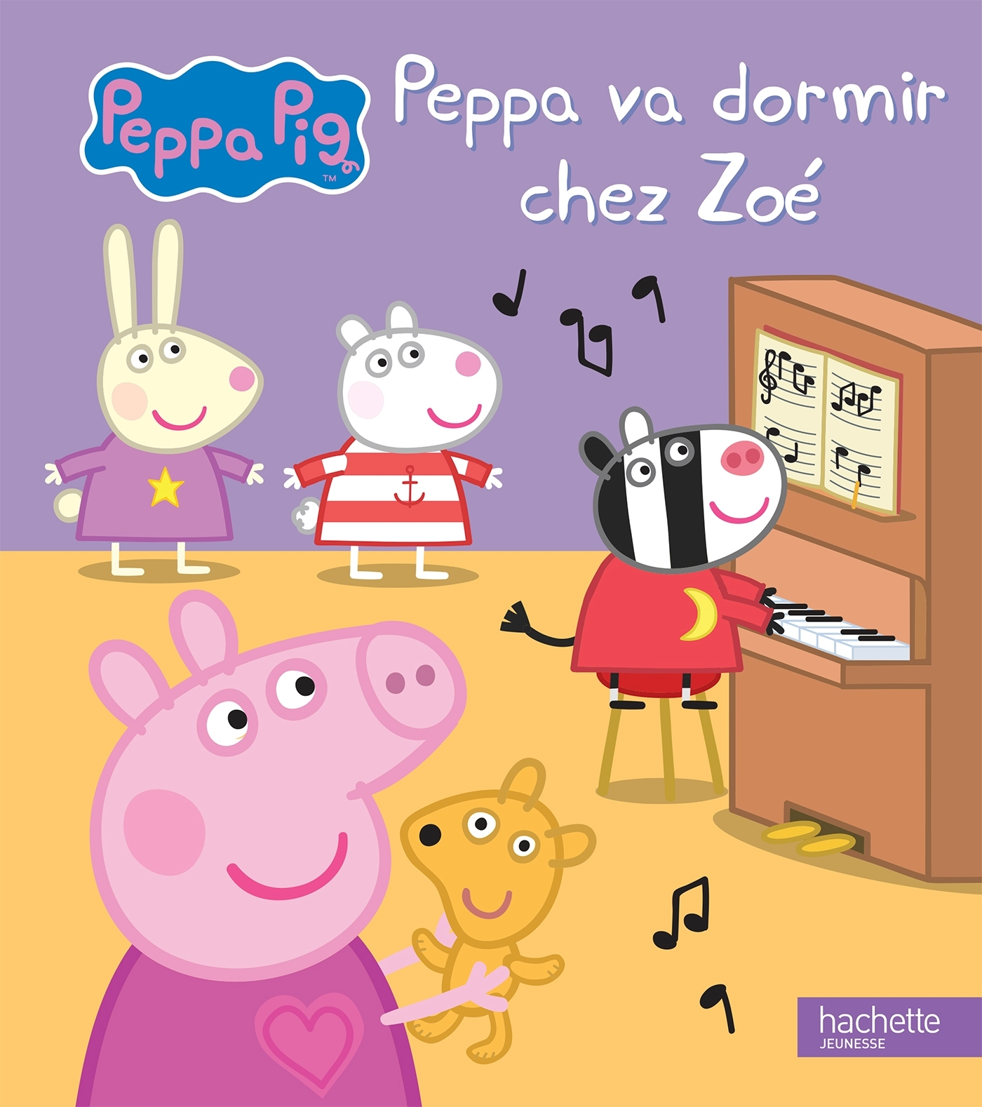PEPPA PIG - PEPPA VA DORMIR CHEZ ZOE