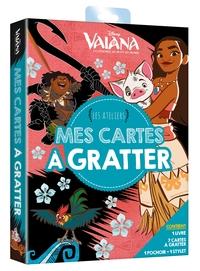 VAIANA - LES ATELIERS DISNEY - POCHETTE - MES CARTES A GRATTER