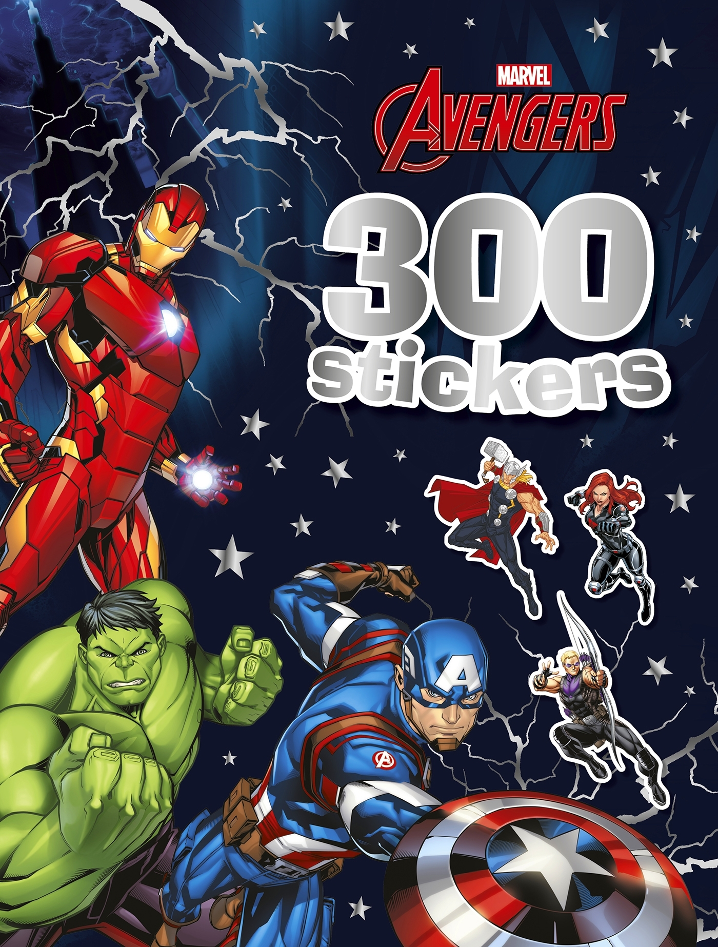 MARVEL - 300 STICKERS - AVENGERS