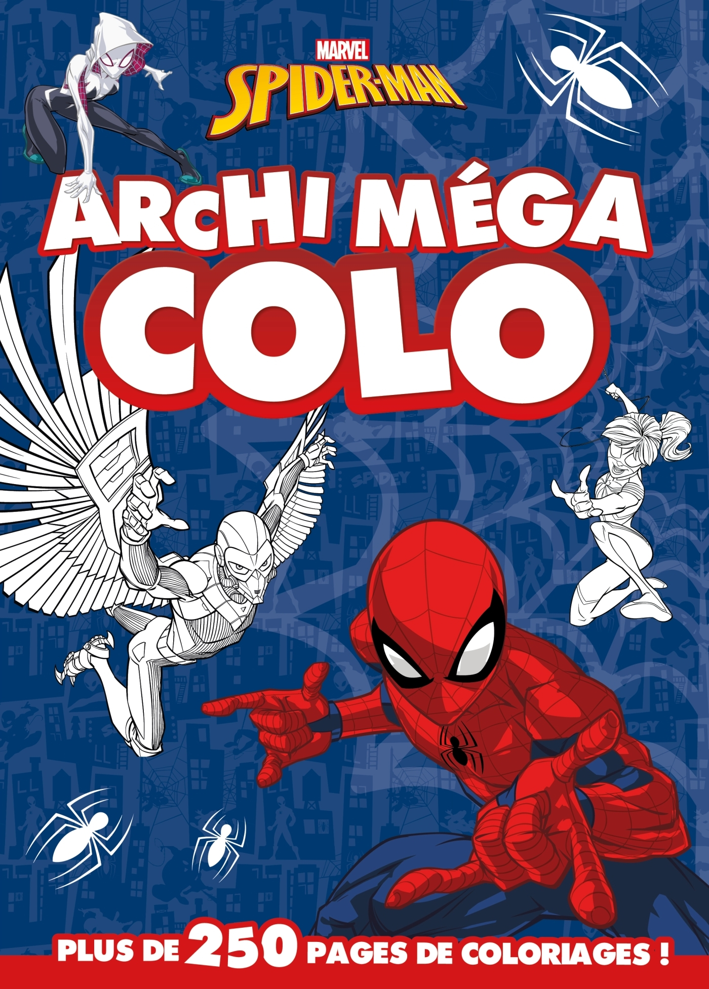 SPIDERMAN - ARCHI MEGA COLO
