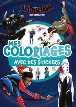 SPIDER-MAN NEW GENERATION - MES COLORIAGES AVEC STICKERS