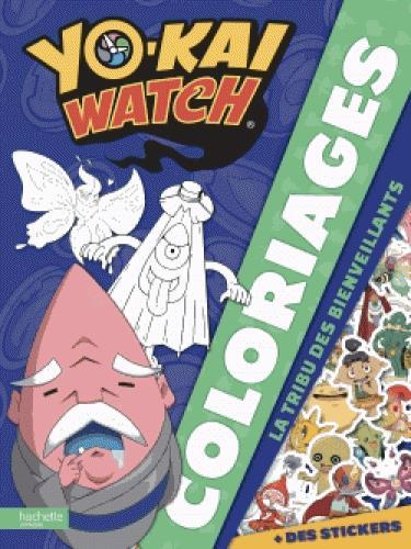 YO-KAI WATCH - COLORIAGES TRIBU BIENVEILLANTS
