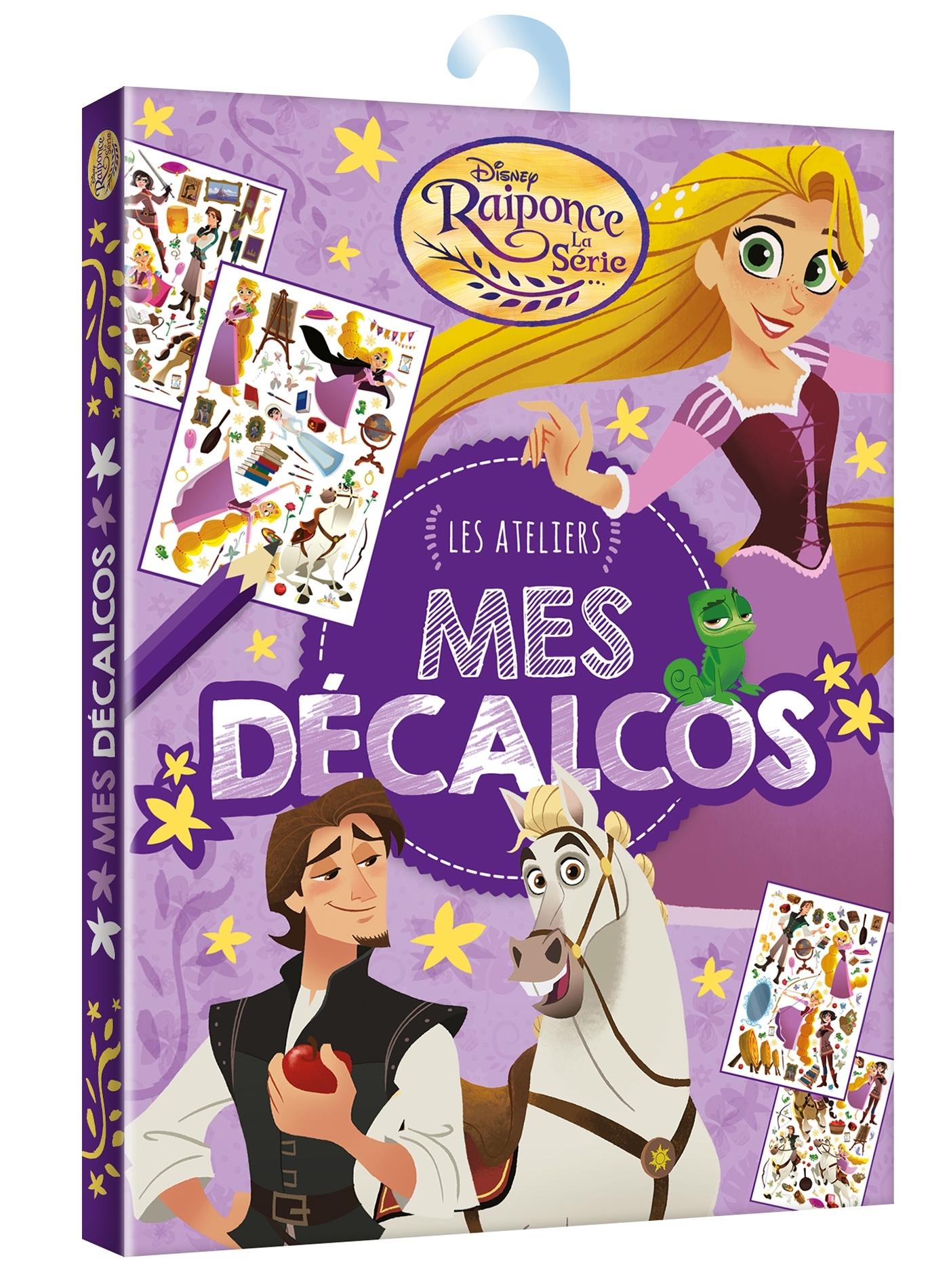RAIPONCE (SERIE TV) - MA POCHETTE DE DECALCOMANIES