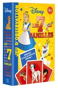 DISNEY - JEU DE CARTES - 7 FAMILLES