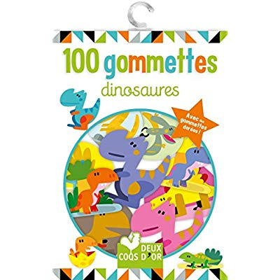 100 GOMMETTES - DINOSAURES