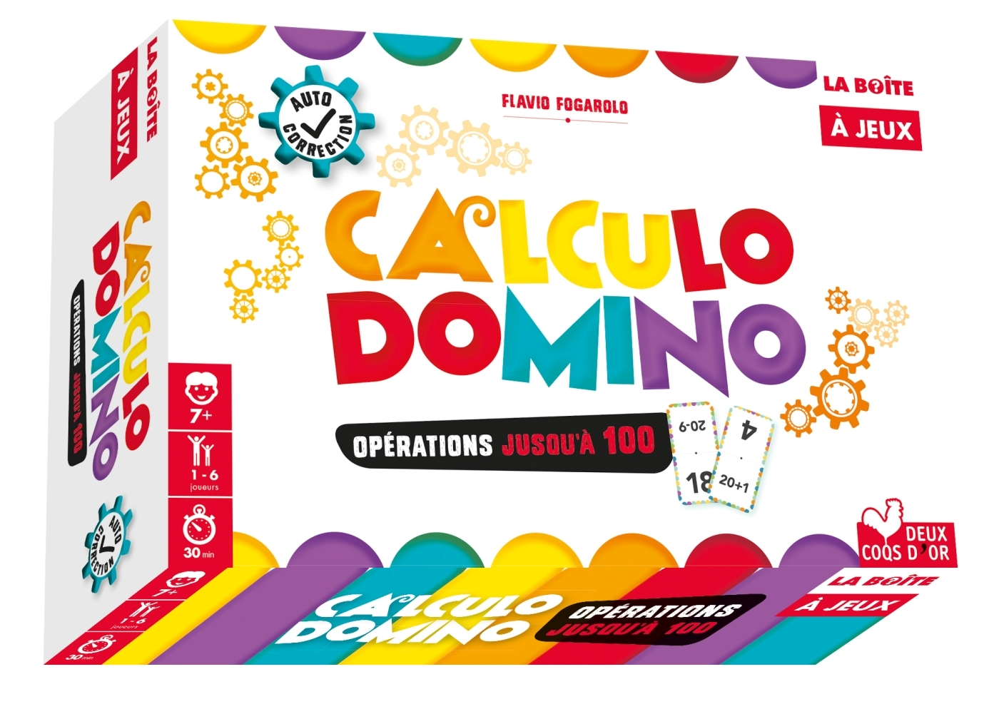 CALCULO DOMINOS - OPERATIONS JUSQU'A 100