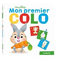 DISNEY BABY - MON PREMIER COLO - BAMBI - POUR COLORIER ET DESSINER SANS DEPASSER