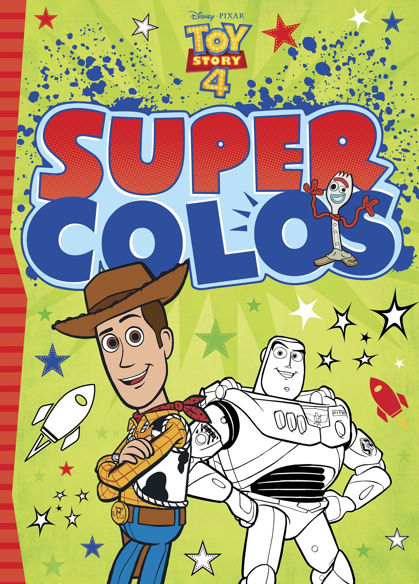 TOY STORY 4 - SUPER COLOS