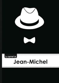 LE CARNET DE JEAN-MICHEL - LIGNES, 96P, A5 - CHAPEAU ET N UD PAPILLON