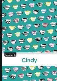 LE CARNET DE CINDY - LIGNES, 96P, A5 - COFFEE CUPS