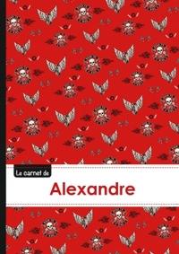 LE CARNET D'ALEXANDRE - LIGNES, 96P, A5 - BIKERS