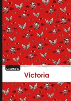 CARNET VICTORIA LIGNES,96P,A5 BIKERS