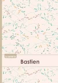 LE CARNET DE BASTIEN - LIGNES, 96P, A5 - POISSONS