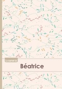 LE CARNET DE BEATRICE - LIGNES, 96P, A5 - POISSONS