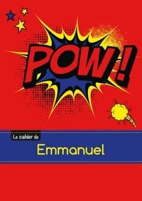 LE CARNET D'EMMANUEL - SEYES, 96P, A5 - COMICS