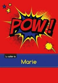 CARNET MARIE BLANC,96P,A5 COMICS