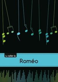 CARNET ROMEO MUSIQUE,48P,A5