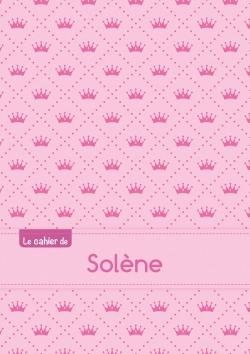 CAHIER SOLENE PTSCX,96P,A5 PRINCESSE