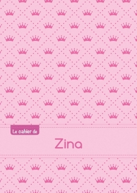 CAHIER ZINA PTSCX,96P,A5 PRINCESSE