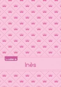 LE CAHIER D'INES - BLANC, 96P, A5 - PRINCESSE